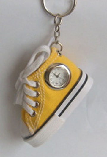 MINI SHOE WATCH KEYCHAIN